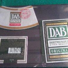 Coleccionismo de cervezas: ETIQUETAS -DAB-GERMANY. Lote 28271039
