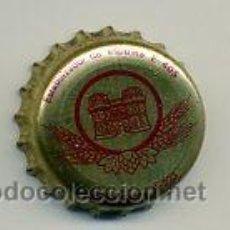 Coleccionismo de cervezas: CHAPA CERVEZA - TURIA - VALENCIA - FAB. E. Lote 126992160