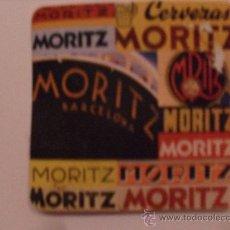Coleccionismo de cervezas: POSAVASOS CERVEZA MORITZ. Lote 31037112