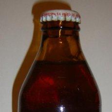 Coleccionismo de cervezas: INTERESANTE BOTELLA CERVEZA SKOL AÑO 1991 COMO NUEVA VER FOTOS. Lote 31140925