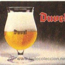 Coleccionismo de cervezas: POSAVASOS PUBLICIDAD CERVEZA BELGA DUVEL. Lote 31266700