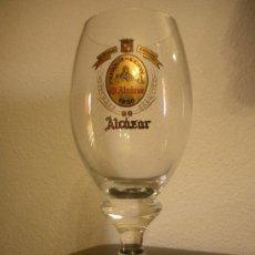 Coleccionismo de cervezas: COPA CERVEZA EL ALCAZAR. Lote 117623040