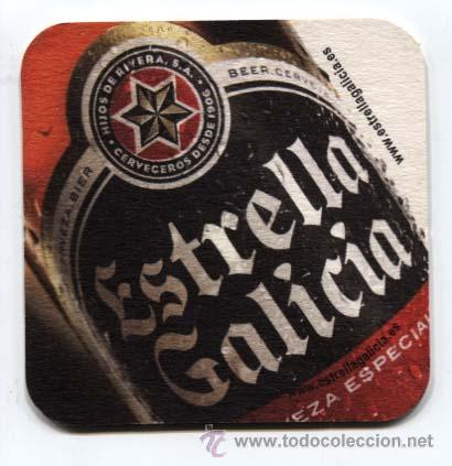 POSA VASOS CERVEZA ESTRELLA GALICIA (Coleccionismo - Botellas y Bebidas - Cerveza )