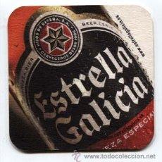 Coleccionismo de cervezas: POSA VASOS CERVEZA ESTRELLA GALICIA. Lote 33751336