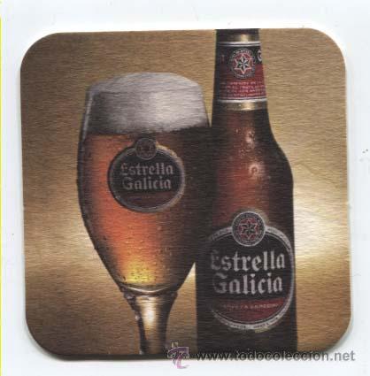 Coleccionismo de cervezas: Posa vasos cerveza Estrella Galicia - Foto 2 - 33751336