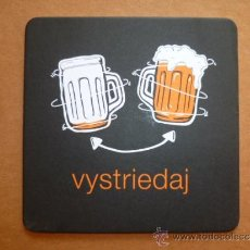 Coleccionismo de cervezas: POSAVASOS DE CERVEZA PUBLICATORIA DE ESLOVAQUIA. Lote 33965949