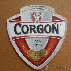 Coleccionismo de cervezas: POSAVASOS DE CERVEZA CORGOÑ DE ESLOVAQUIA. Lote 33965976