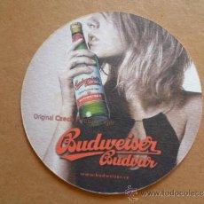 Coleccionismo de cervezas: POSAVASOS DE CERVEZA BUDVAR DE REUBLICA CHECA (NUEVO). Lote 33966010