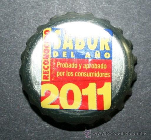 Coleccionismo de cervezas: CHAPA DE CERVEZA - SAN MIGUEL SELECTA - SABOR DEL AÑO 2011 - Foto 2 - 35404827