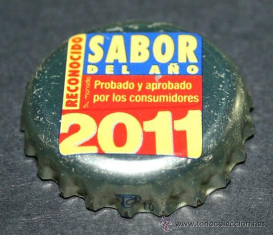 CHAPA DE CERVEZA - SAN MIGUEL SELECTA - SABOR DEL AÑO 2011 (Coleccionismo - Botellas y Bebidas - Cerveza )