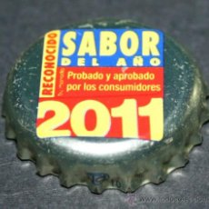 Coleccionismo de cervezas: CHAPA DE CERVEZA - SAN MIGUEL SELECTA - SABOR DEL AÑO 2011. Lote 35404827