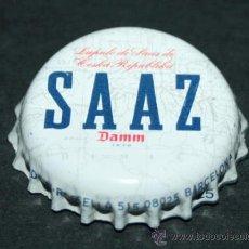 Coleccionismo de cervezas: CHAPA DE CERVEZA - DAMM - SAAZ. Lote 35404828