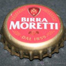 Coleccionismo de cervezas: CHAPA DE CERVEZA - BIRRA MORETTI. Lote 35404830