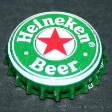 Coleccionismo de cervezas: CHAPA DE CERVEZA - HEINEKEN. Lote 182055782