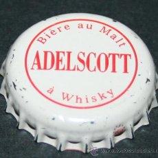 Coleccionismo de cervezas: CHAPA DE CERVEZA - ADELSCOTT. Lote 35404912