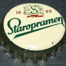 Coleccionismo de cervezas: CHAPA DE CERVEZA - STAROPRAMEN. Lote 35404914