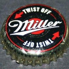 Coleccionismo de cervezas: CHAPA DE CERVEZA - MILLER - TWIST OFF. Lote 35404915