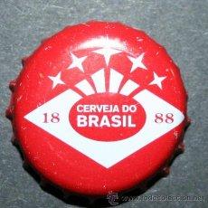 Coleccionismo de cervezas: CHAPA DE CERVEZA - BRAHMA. Lote 35404916