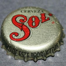 Coleccionismo de cervezas: CHAPA DE CERVEZA - SOL. Lote 35404920