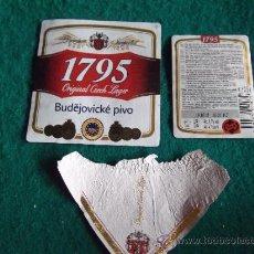 Coleccionismo de cervezas: CERVEZA-V9-ETIQUETAS. Lote 35467852