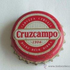 Collectionnisme de bières: CHAPA CERVEZA CRUZCAMPO FACTORIA DAP. Lote 36875834