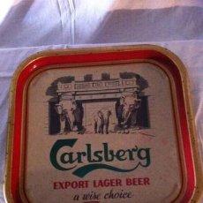 Coleccionismo de cervezas: BANDEJA CARLSBERG. Lote 36956250