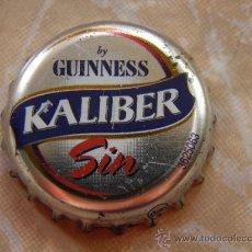 Coleccionismo de cervezas: ANTIGUA CHAPA KALIBER SIN. GUINNESS. FAB. CHAPA: DAP.------LOTE N. 1634------. Lote 37182830