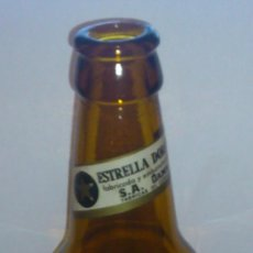 Coleccionismo de cervezas: INTERESANTE BOTELLA CERVEZA ESTRELLA DORADA DAMM . Lote 37748547