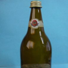 Coleccionismo de cervezas: BOTELLA DE 1 LITRO CERVEZA TURIA PILSEN. CADUCA MARZO 1993. BOTELLA DE CRISTAL. Lote 37842325