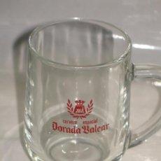 Coleccionismo de cervezas: JARRA CERVEZA DORADA BALEAR. Lote 38085399