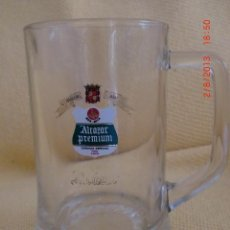 Coleccionismo de cervezas: JARRA CERVEZA ALCAZAR PREMIUM . Lote 38473014