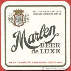 Coleccionismo de cervezas: POSA VASOS CERVEZA – MARLEN. Lote 293934728