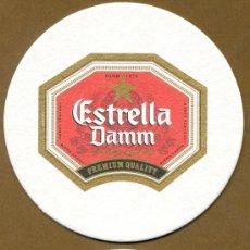 Coleccionismo de cervezas: POSA VASOS CERVEZA – ESTRELLA DAMM. Lote 293934428