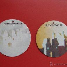 Coleccionismo de cervezas: CERVEZA FELDSCHLÖSSCHEN (POSAVASOS -1994-) SUIZA ¡RAROS! ¡COLECCIONISTA!. Lote 39918421