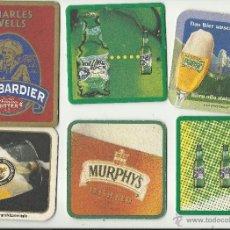 Coleccionismo de cervezas: 6 POSAVASOS CERVEZAS. Lote 40157173