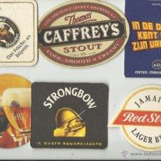 Coleccionismo de cervezas: 6 POSAVASOS CERVEZAS. Lote 40157195