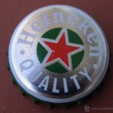 Coleccionismo de cervezas: 1 CHAPA CERVEZA HEINEKEN. FAB. CHAPA: DAP. --------LOTE N. 612---. Lote 40621118
