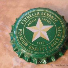 Coleccionismo de cervezas: CHAPA CERVEZA ESTRELLA DE LEVANTE. NUEVA, SIN CERRAR.---LOTE N. 733---. Lote 40655505