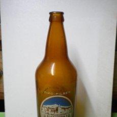 Coleccionismo de cervezas: BOTELLA SERIGRAFIADA 1 LITRO DE CERVEZA - LA ALHAMBRA SA - TRASERA DISTINTA. Lote 41379875