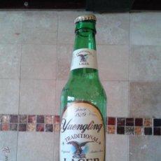 Coleccionismo de cervezas: BOTELLA DE YUENGLING, LA MÁS ANTIGUA CERVEZA DE ESTADO UNIDOS. Lote 41596583