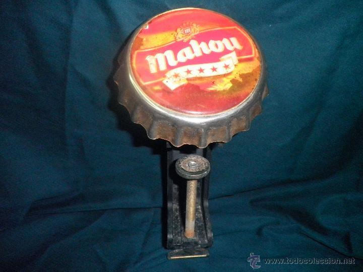 ABREBOTELLAS MAHOU (Coleccionismo - Botellas y Bebidas - Cerveza )