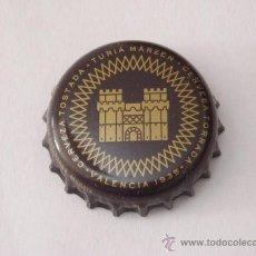 Coleccionismo de cervezas: CHAPA CERVEZA TURIA. Lote 42326116