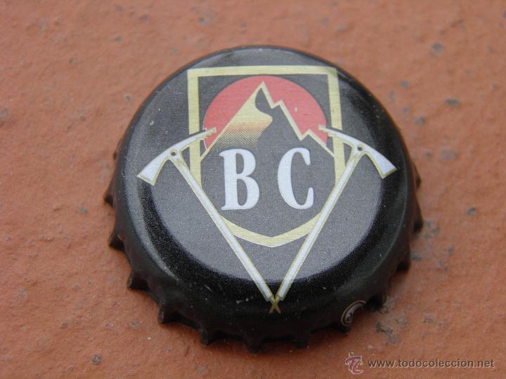 CHAPA CERVEZA BIERE BEER BATON DE FEU. BRASSERIE DES CIMES. FRANCIA.---LOTE N. 147---CARMANJO (Coleccionismo - Botellas y Bebidas - Cerveza )