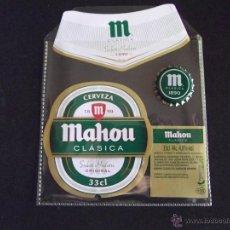 Coleccionismo de cervezas: CERVEZA-V9B-ETIQUETAS Y CHAPA-NUEVO. Lote 43364768