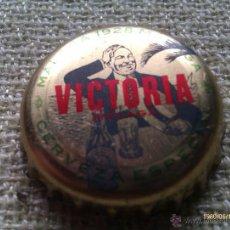 Collectionnisme de bières: CHAPA KRONKORKEN CAPS TAPPI CERVEZA VICTORIA 1928. MÁLAGA. ANDALUCÍA. ESPAÑA. Lote 236815820