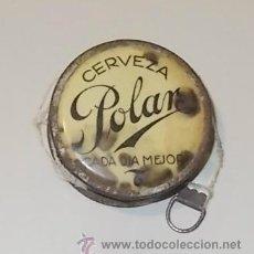 Coleccionismo de cervezas: METRO PUBLICITARIO DE CERVEZA LA POLAR. 3.5CM.. Lote 43471098