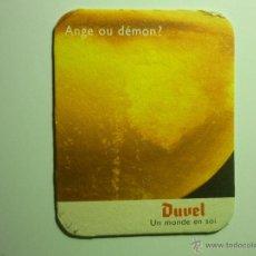 Coleccionismo de cervezas: POSAVASOS CARTON DURO DUVEL . Lote 43686704