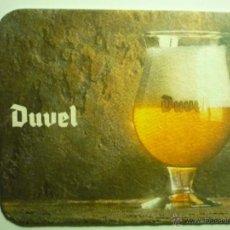 Coleccionismo de cervezas: POSAVASOS CARTON DURO DUVEL. Lote 43691438