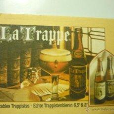 Coleccionismo de cervezas: POSAVASOS CERVEZA LA TRAPPE. Lote 44008177