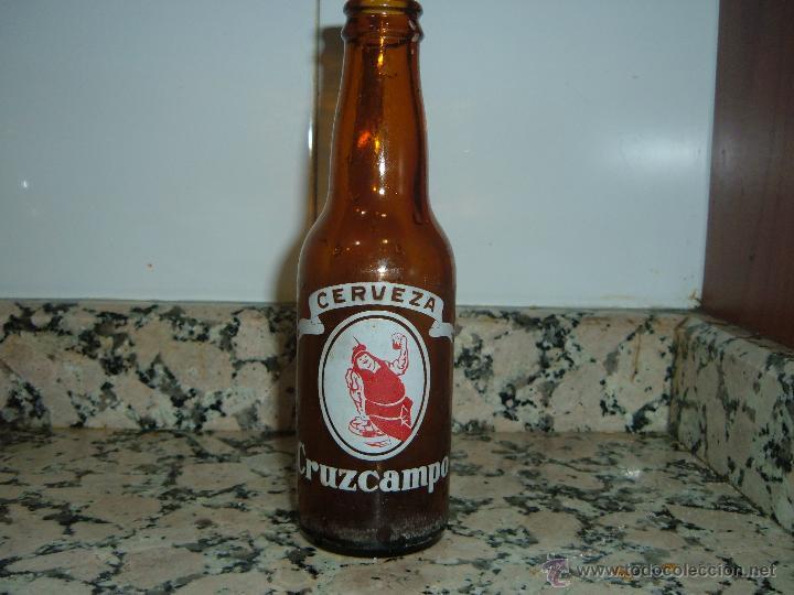 BOTELLA CERVEZA CRUZCAMPO (Coleccionismo - Botellas y Bebidas - Cerveza )